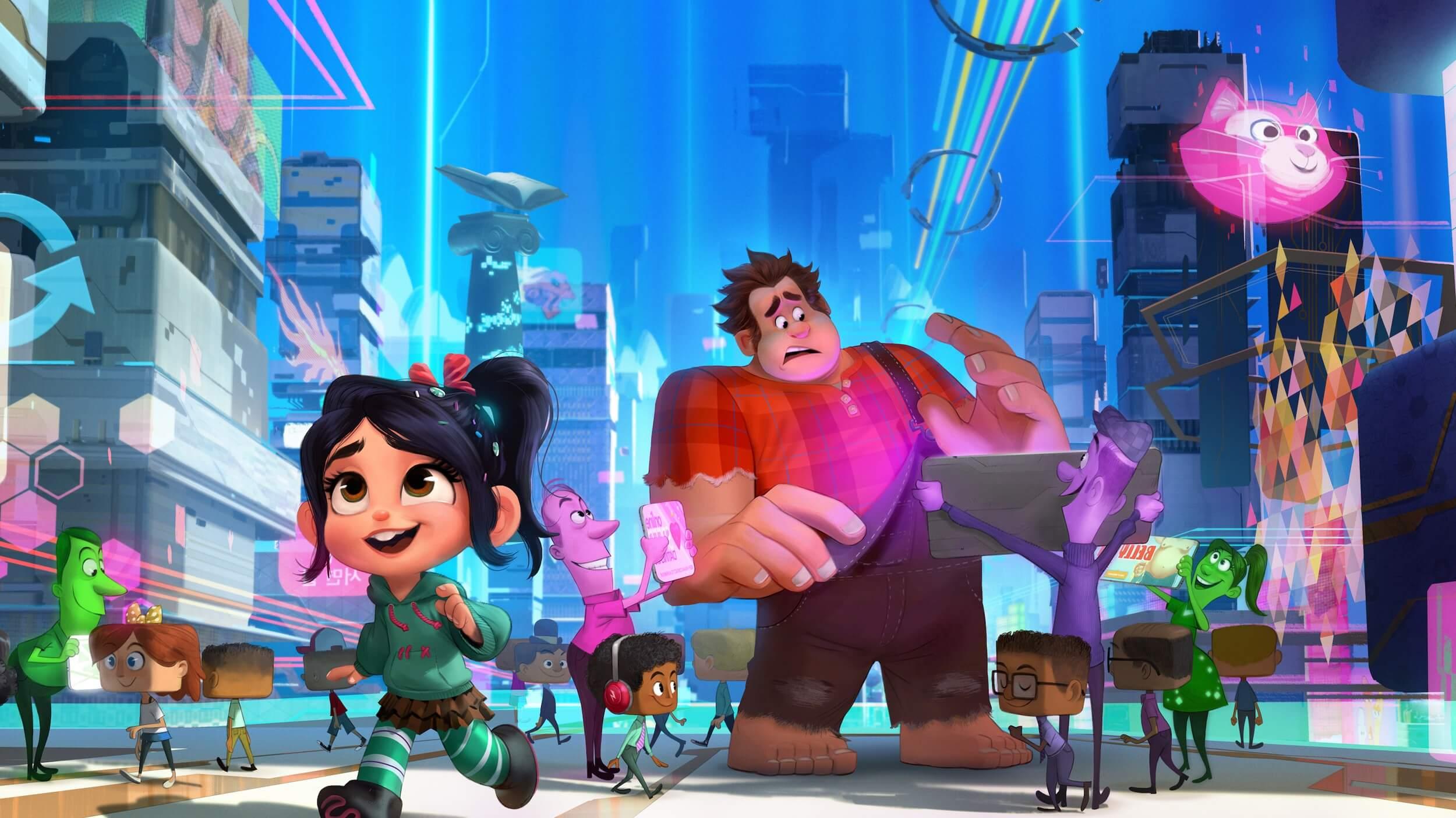 Wreck-It Ralph 2 Trailers Many Disney Disney, Marvel